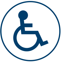 Wheelchair Accessiblity Amenity Icon
