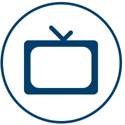 Big Screen TV's Amenity Icon